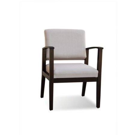 Morley Guest Chair in Taupe fabric