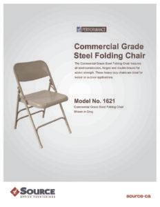 Commercial Grade Steel Folding