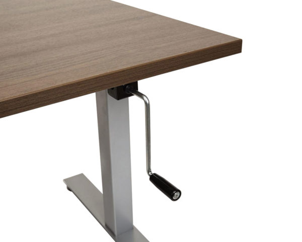 Crank Height Adjustable Sit Stand Table