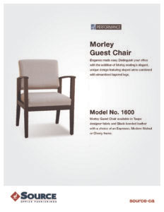 Morley Guest Chair Specifications