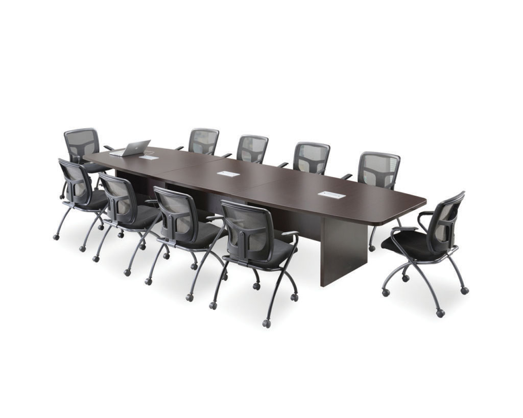 Classic Boat-Shaped Style Conference Table