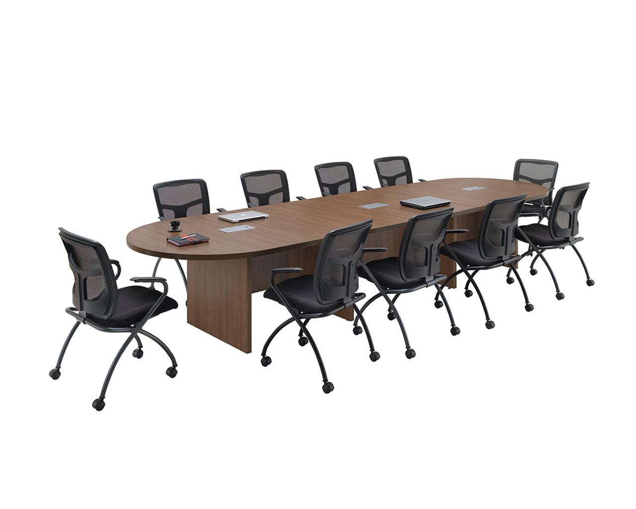 Classic Racetrack Conference Table - Hon racetrack conference table