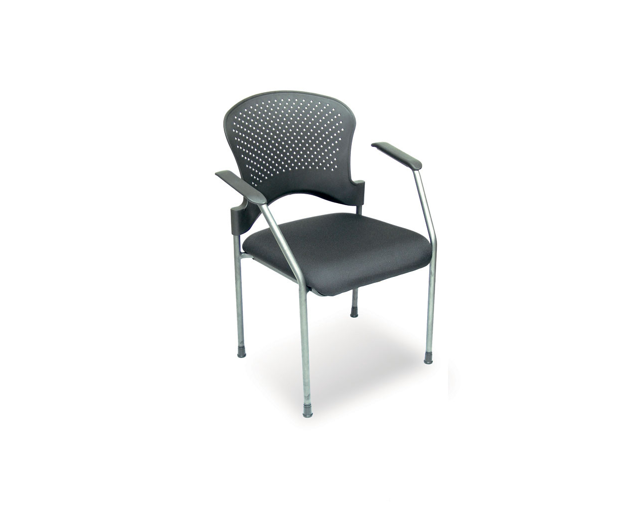 Arc Stackable Guest Chair with Arms