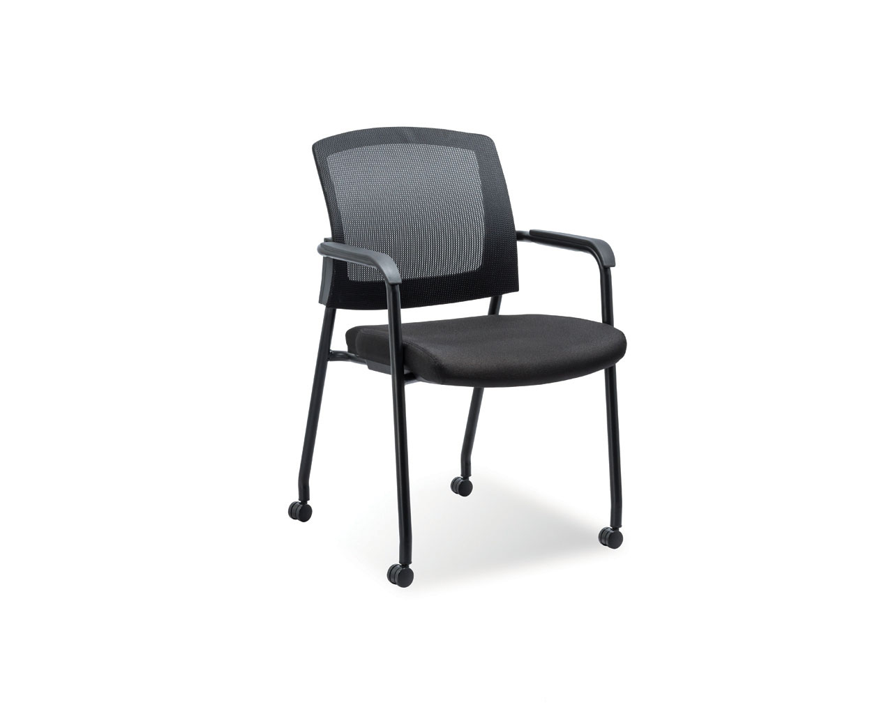 Aero Stackable Chair with Casters