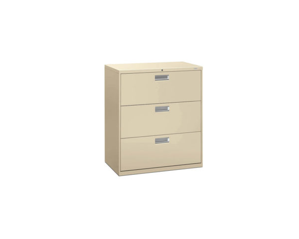 HON Three Drawer Lateral File