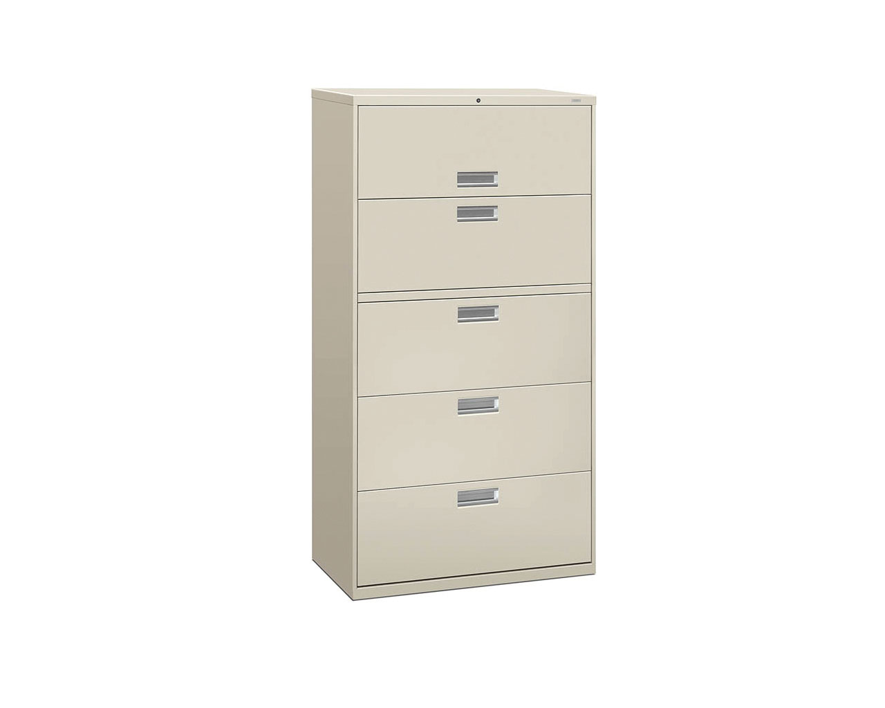 HON Five Drawer Lateral File