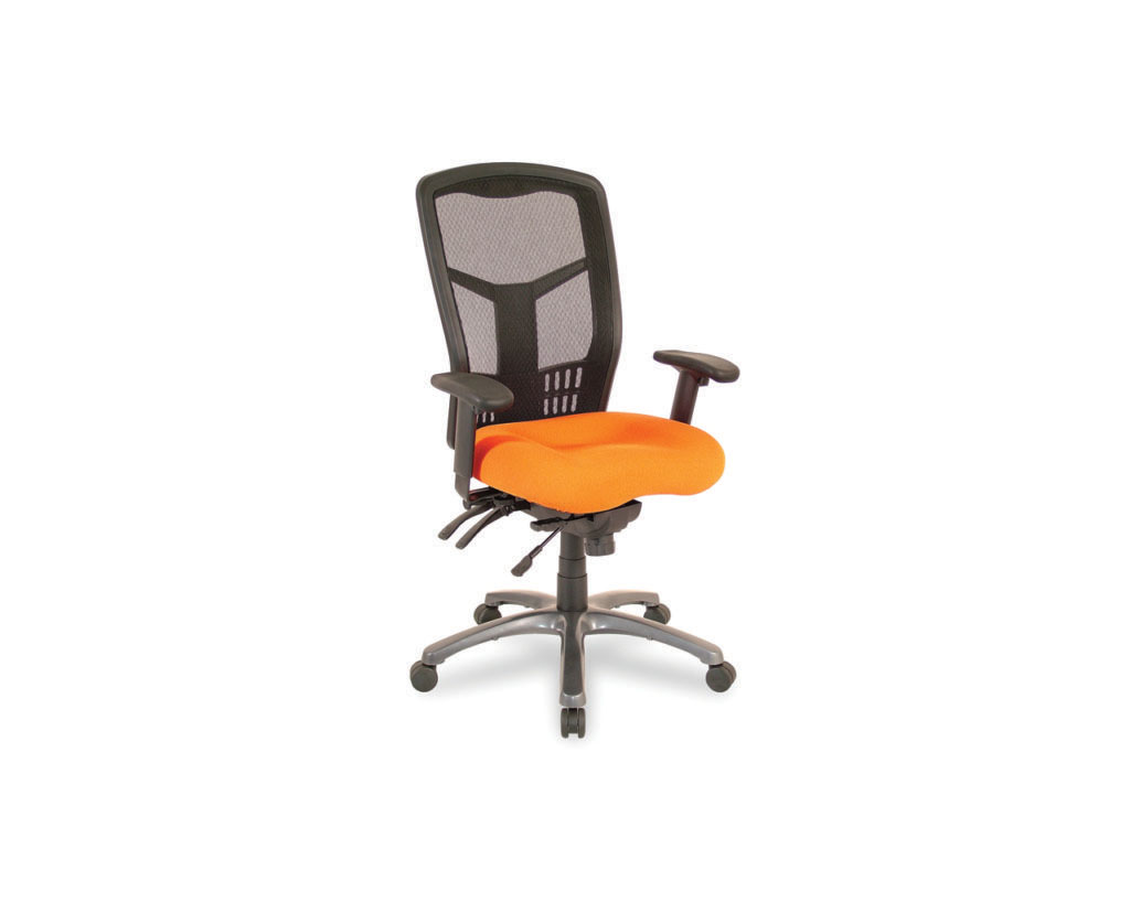 CoolMesh High Back Chair with Optional Titanium Base