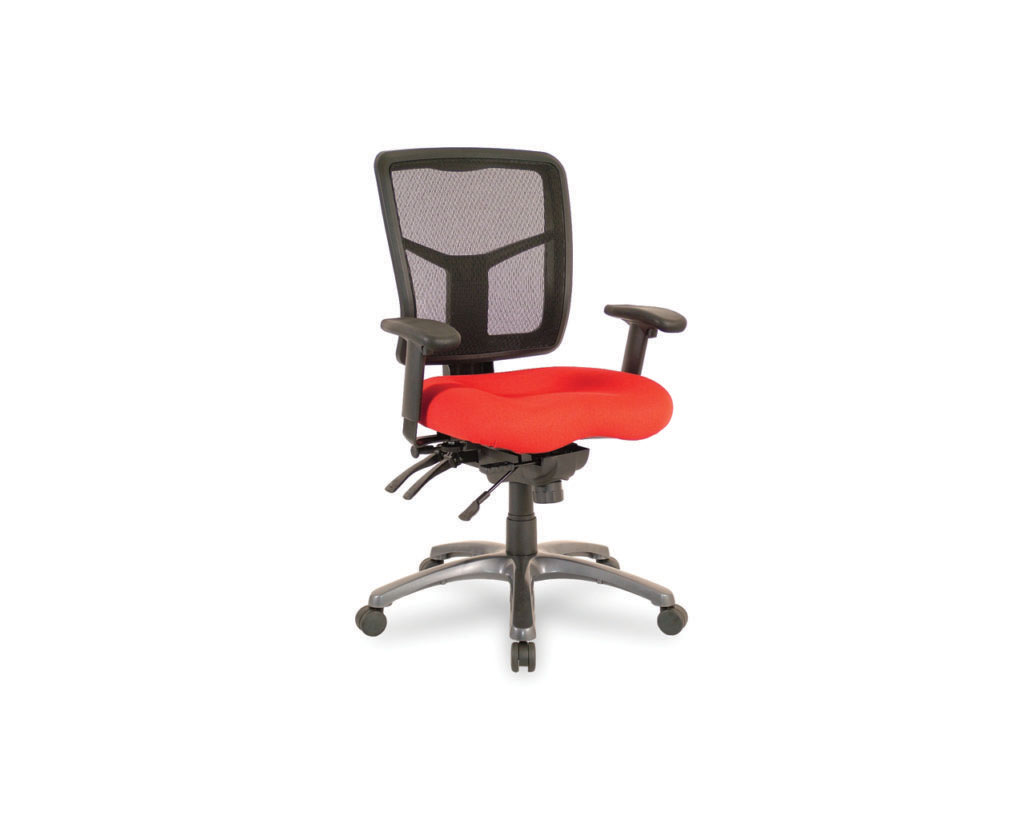 CoolMesh Mid Back Chair with Upgraded Titanium Base