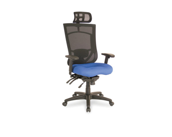 CoolMesh Pro High Back Chair with Optional Headrest