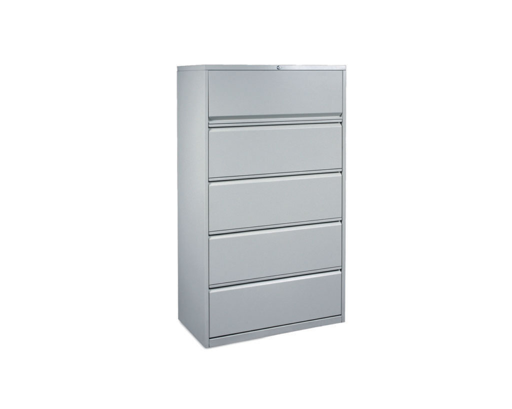 Steelwise Five Drawer Lateral File