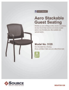 Aero Stackable Guest Chair Specifications