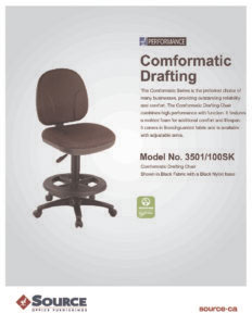 Comformatic Drafting Chair Specifications