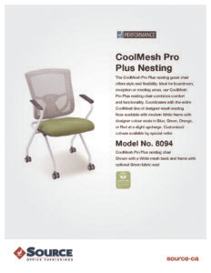 CoolMesh Pro Plus Nesting Specifications