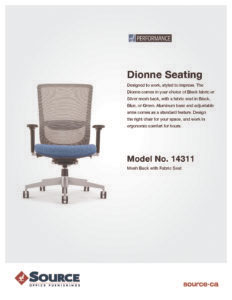 Dionne MId Back Specifications