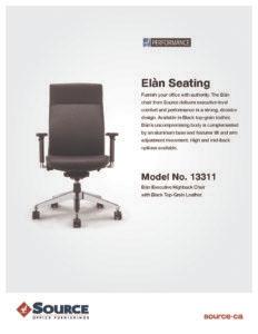 Elan Series Specifications