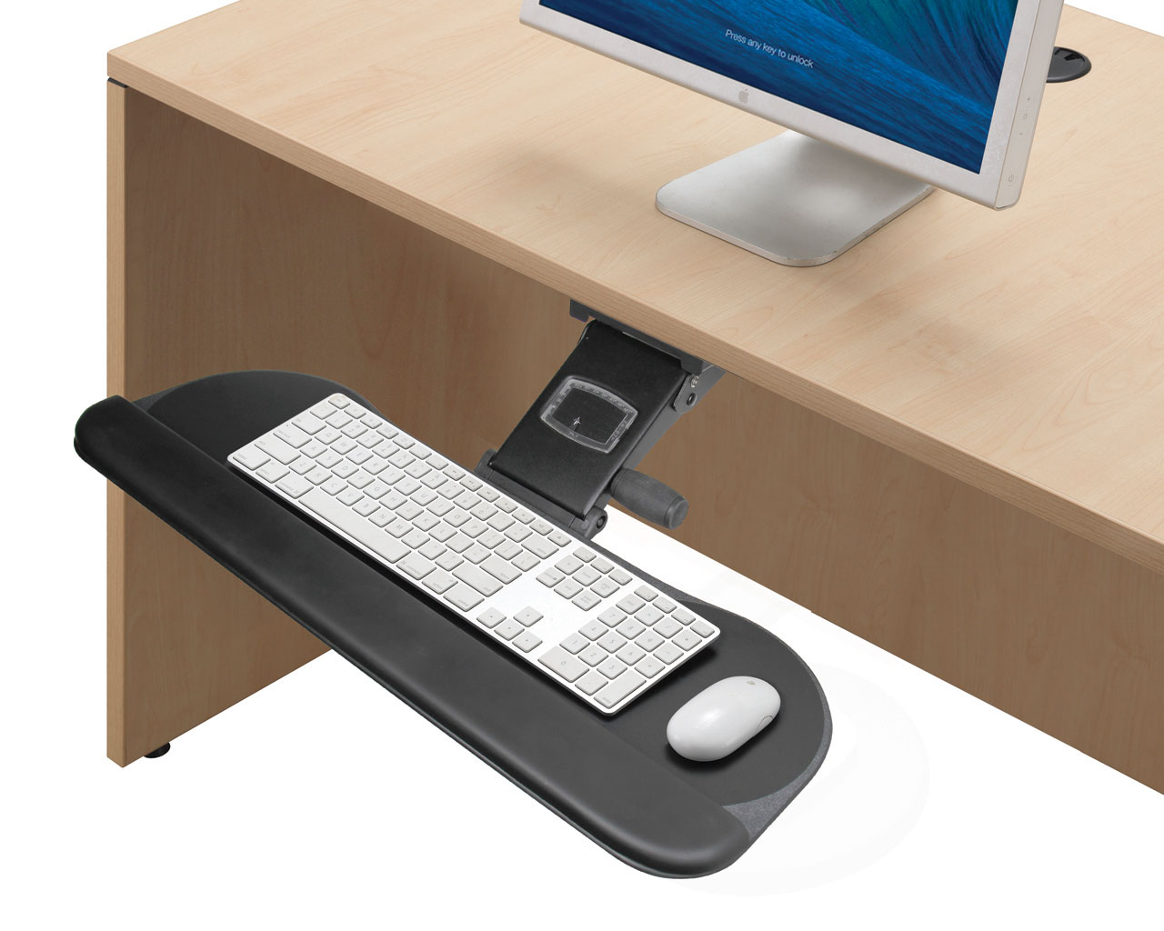 Heavy Duty Articulating Keyboard Tray
