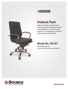 Holland Park Series Specifications