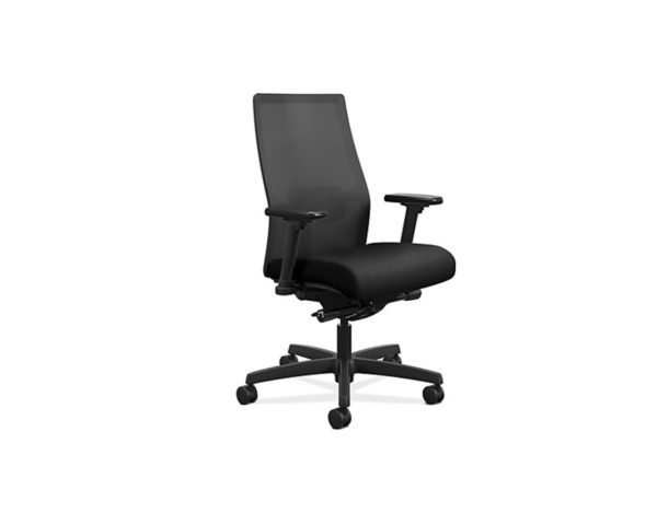 HON Ignition Chair with Black Mesh Back and Fabric Seat