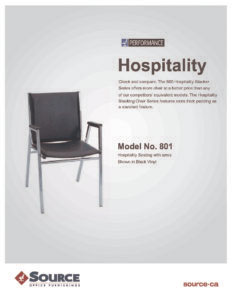 Hospitality Series Specifications