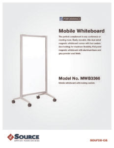 Mobile Whiteboard Specifications7