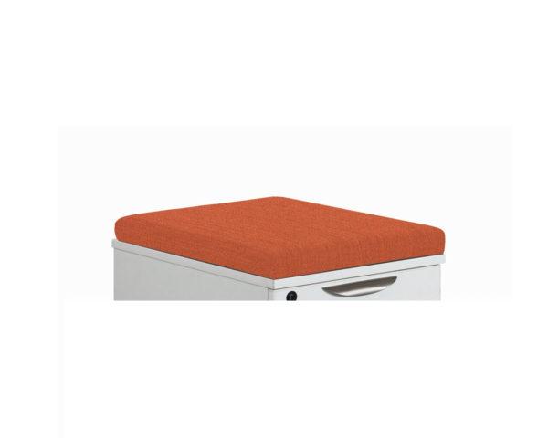 Orange Pedestal Cushion