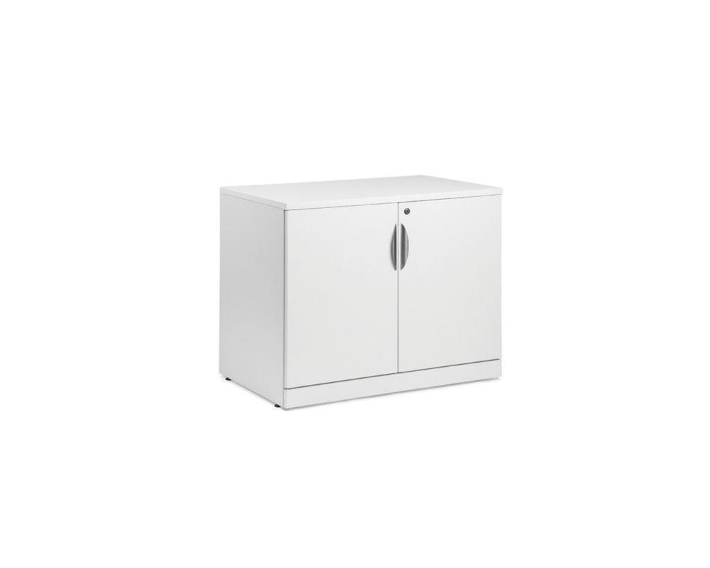 "Classic 29.5""H Locking Double Door Cabinet"