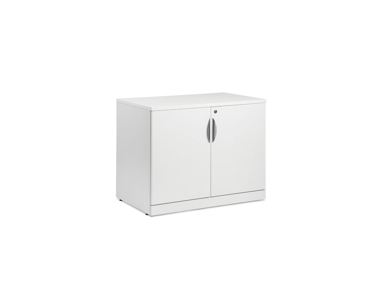 "Classic 29.5""H Locking Double Door Cabinet"