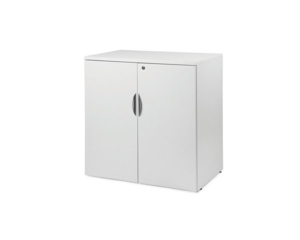 "Classic 29.5""H Locking 38""H Double Door Cabinet"