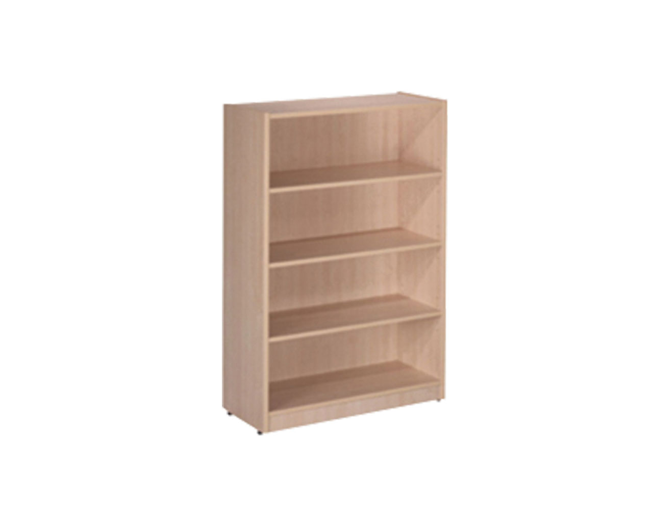 Four Shelf Classic Bookcase