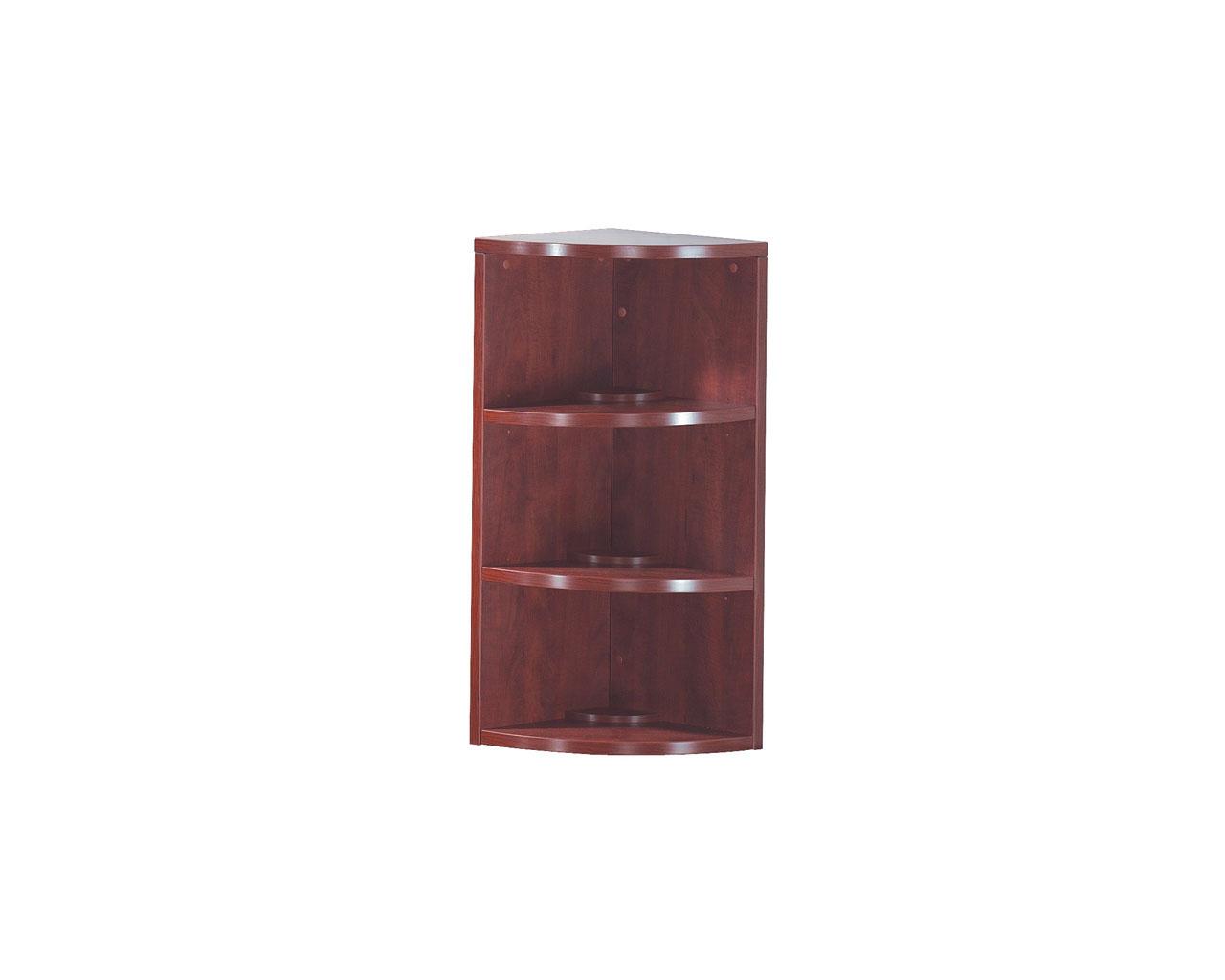 Classic Corner Bookcase - 3 Shelf