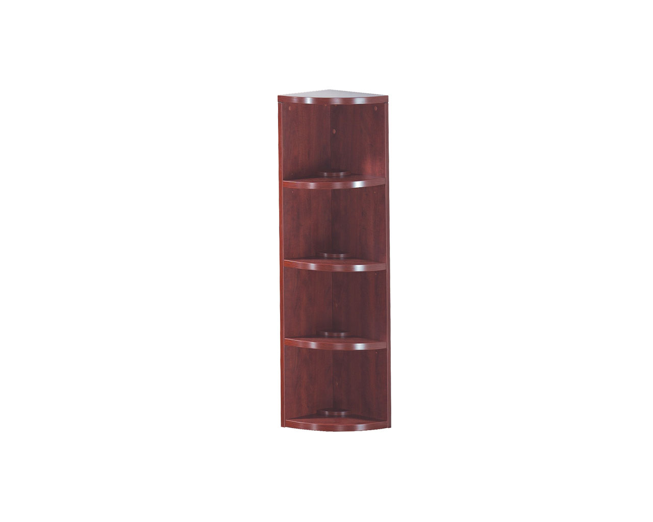 Classic Corner Bookcase - 4 Shelf