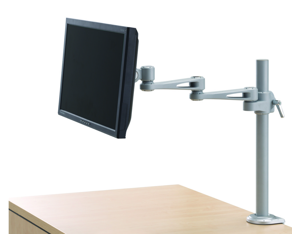 "Single Monitor Arm with 17"" Reach"