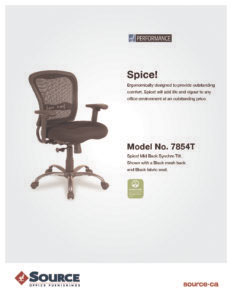 Spice! Tilter Specifications