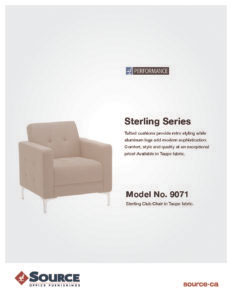 Sterling Seating Series Specifications