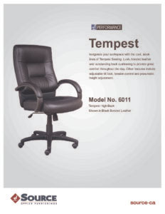 Tempest Series Specifications