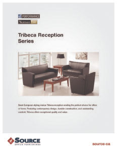 Tribeca Reception Series Specifications