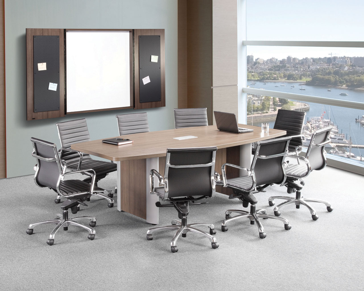Classic Plus Boat-Shape Conference Table