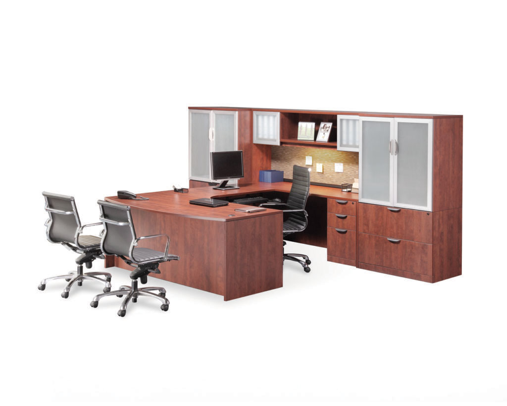 "Executive 71"" Bowfront Workstation"