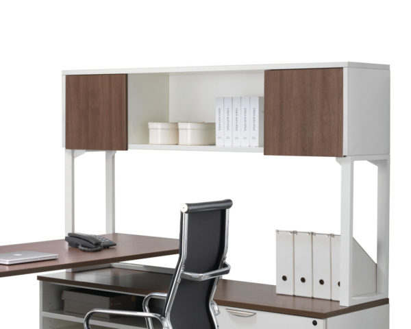 Elements Hutch With Two Laminate Doors