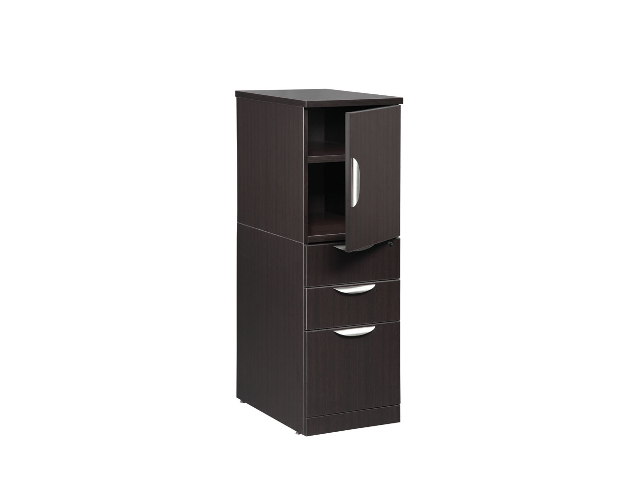 Stack On Storage/File Unit with Reversible Door