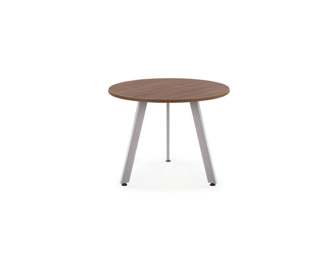 Classic Round Conference Table with V-Legs
