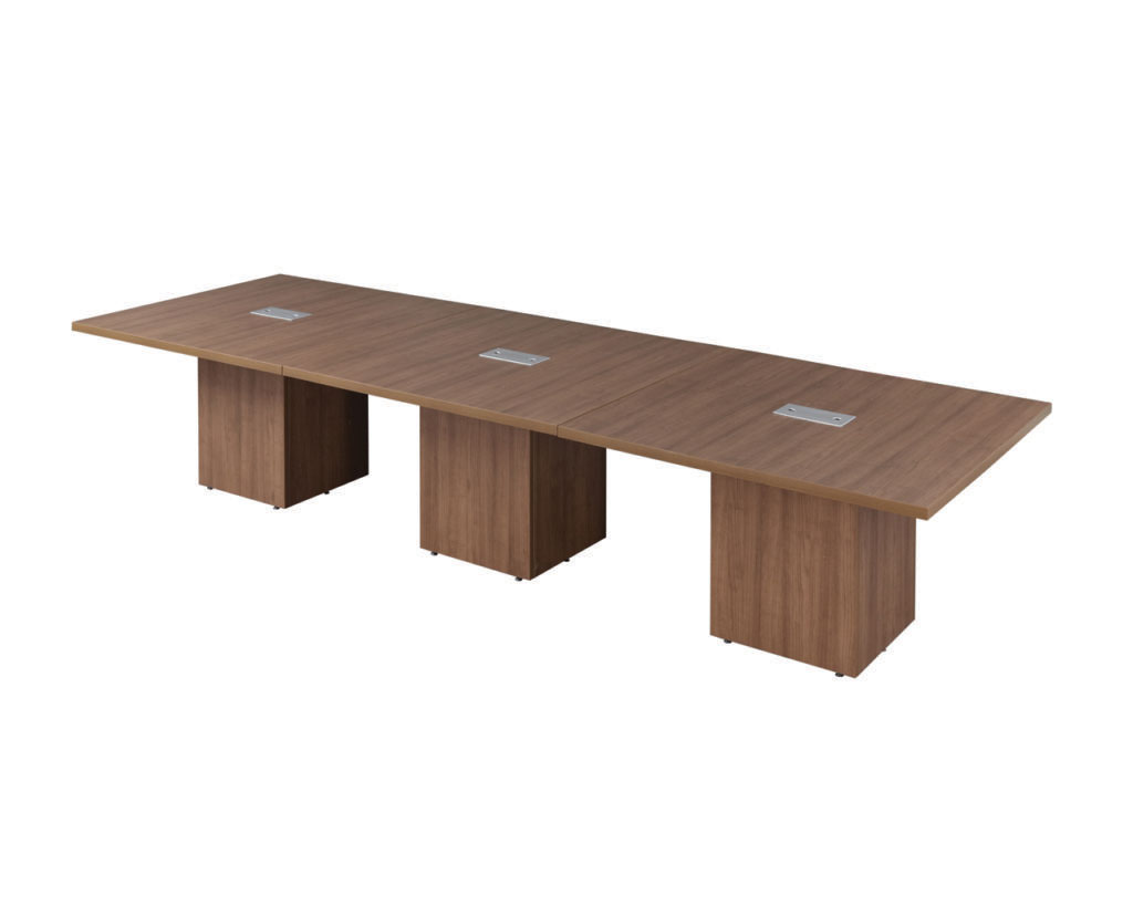 Classic Square Top Cube Base Table