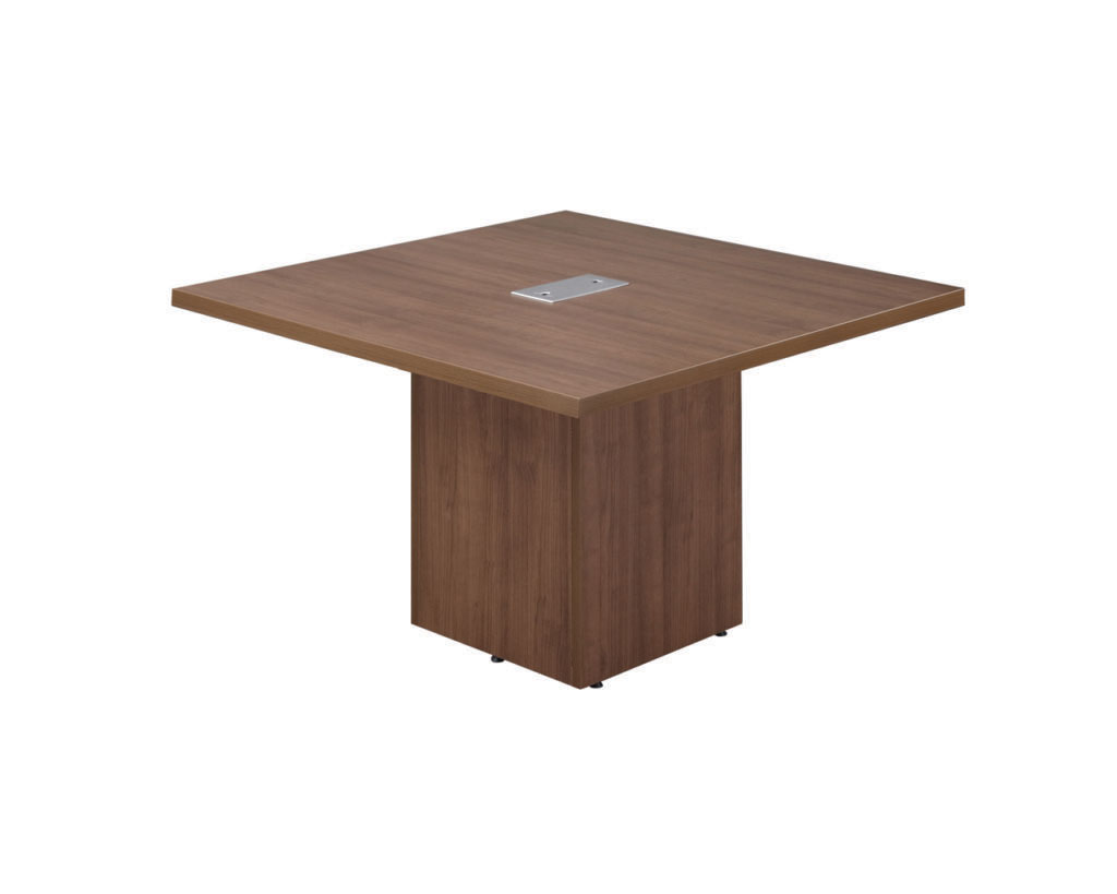 Classic Square Top Cube Style Base Conference Table