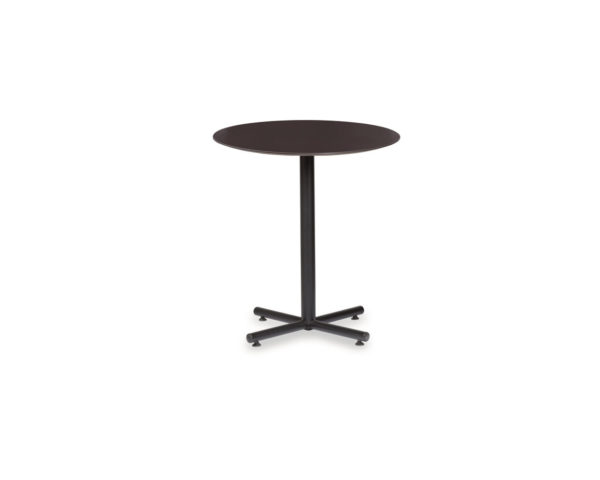 Classic Round Beveled Top Table with X-Base