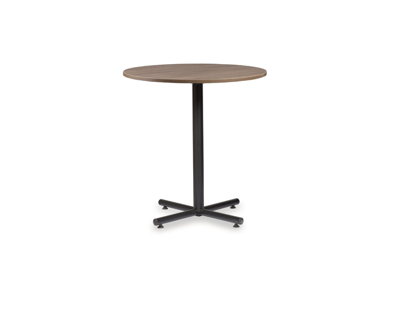 Classic Traditional Bistro Table with Cross Base