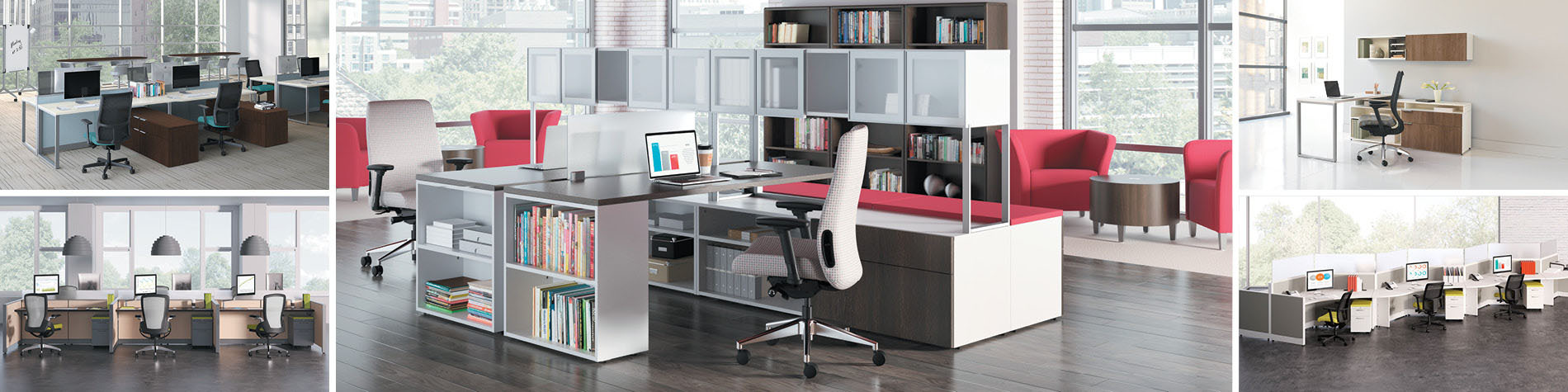 corner offices desks buy to shelving ideas for small home decorating office space where desk