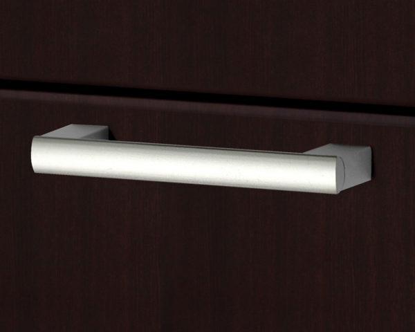 Designer Swiss Nickel Pull Handle