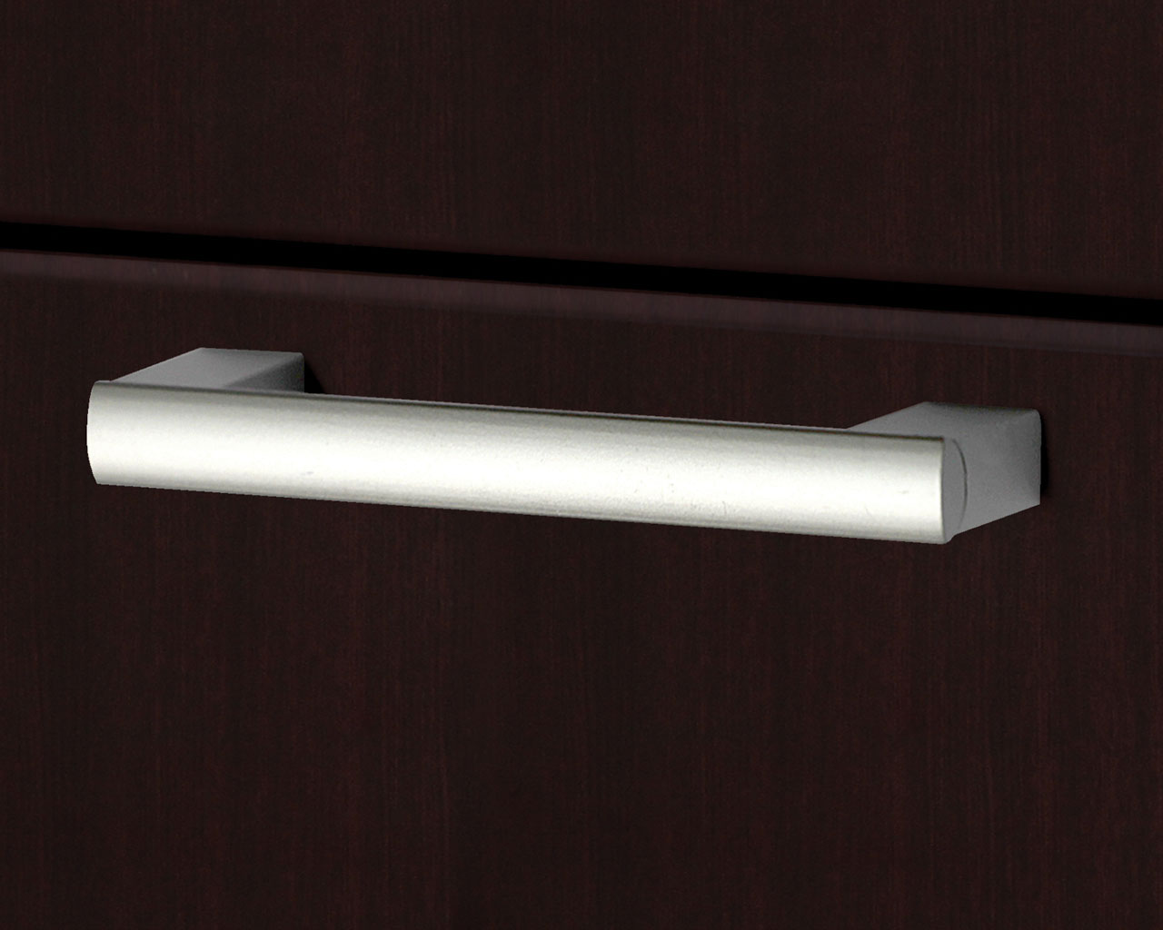Designer Swiss Nickel Pull Handle