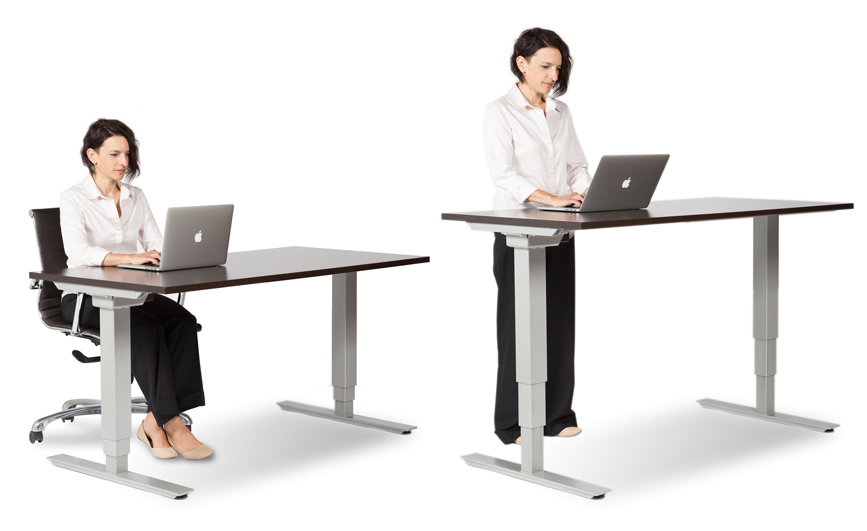 Charmant Standing Office Table. Standing Office Table O