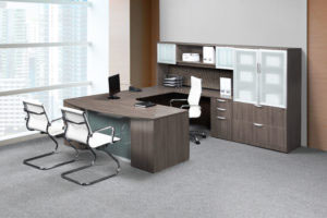Executive Bowfront Workstation
